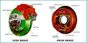 DISK AND DRUM BRAKES