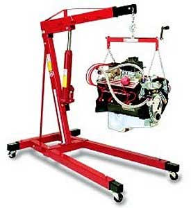 Heavy Duty One Ton Workshop Engine Crane Lift Garutech